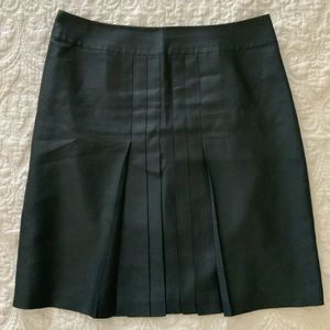 Maxazria Collection Silk Pleated Skirt